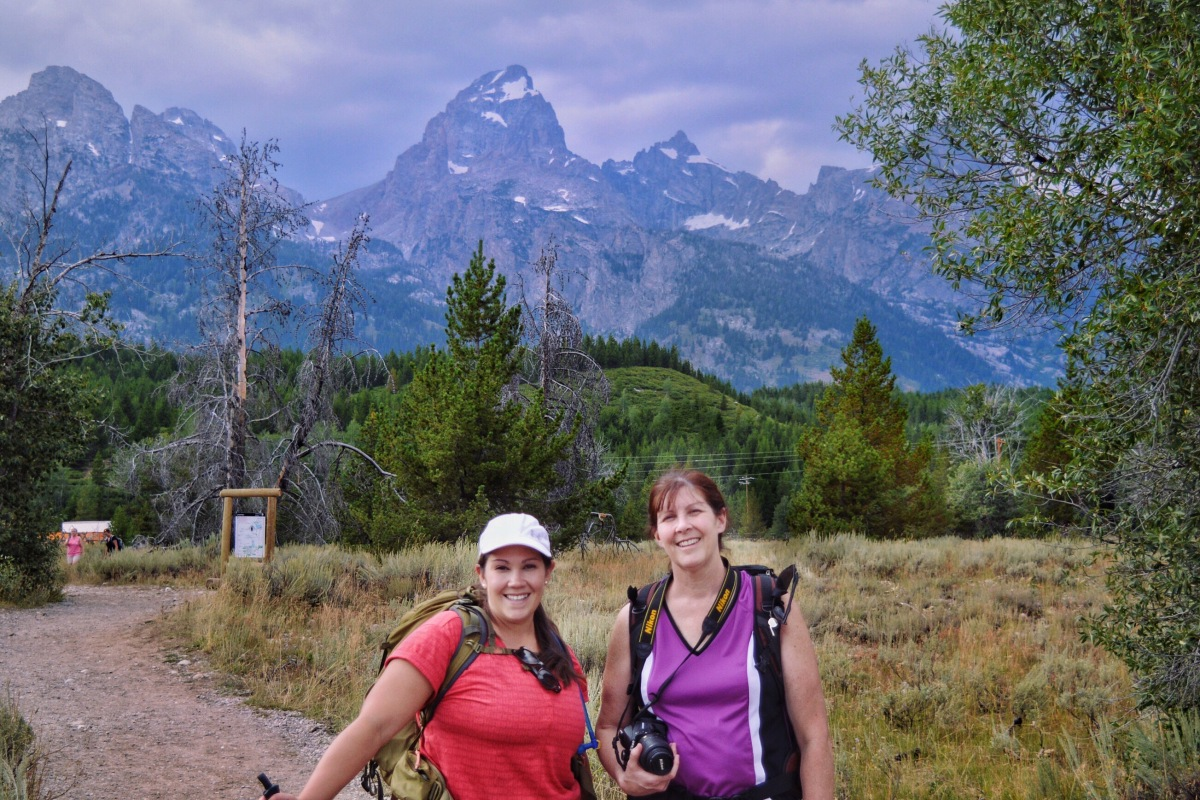 Go Hiking in Grand Teton National Park with Kids! Grand Teton National Park is a great place for the whole family to go hiking!