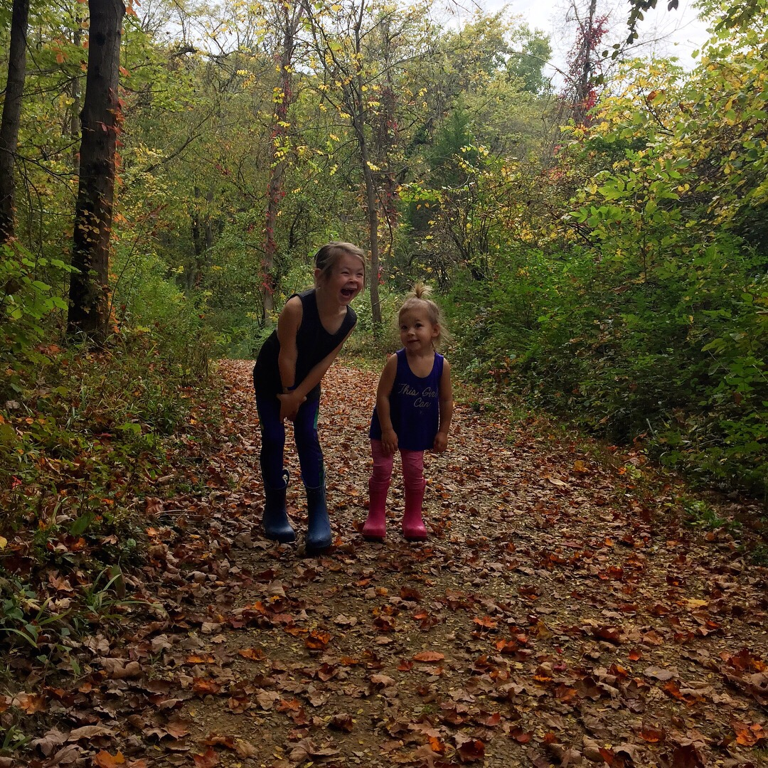 Next time your kids are driving you crazy with their fighting take them on a hike!