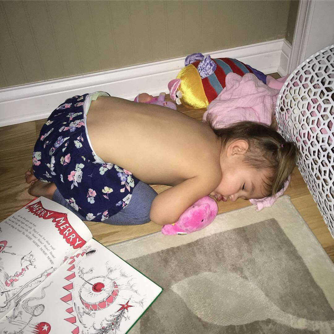 The Christmas hangover is real and affects kids and adults alike!